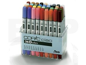 Copic Ciao set 36B, 36 colors