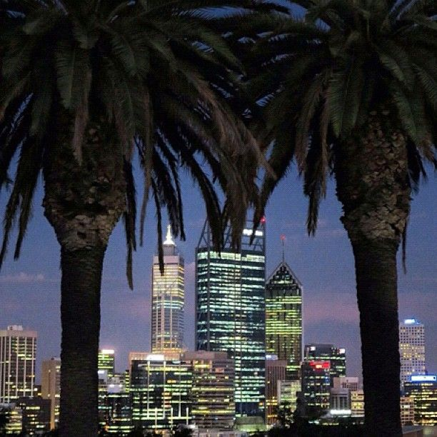skyline Perth Western #Australia