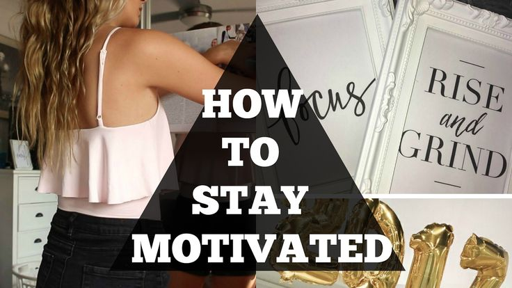 HOW TO BE MOTIVATED AND PRODUCTIVE // Annalise Wood