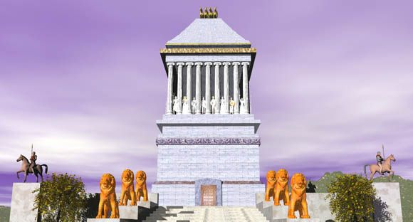 The Seven Wonders: The Mausoleum at Halicarnassus