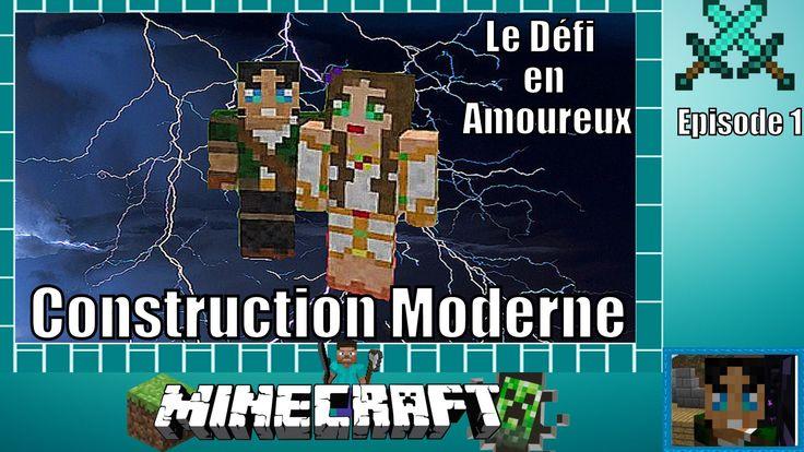 Minecraft episode 1 construction moderne le d fi en for Minecraft modernes haus download 1 7 2