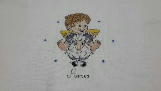 #zodiac #aries #crossstitch #crossstitcher #crosstitchlove #crossstitchcrazy #cross_stitch #crossstitchindonesia #dmc #embroidery #handmade #needlecraft #needlework #projects #pixelart #stitch #sewing #xstitch #sulam #kristik #instacrossstitch #hobby