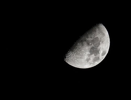 La Luna stanotte...
