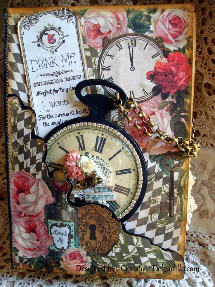 Christine's Class Kits: Mad Tea Party Class