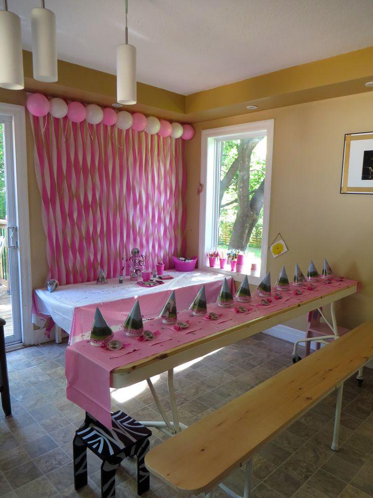 Kids Party Table Idea