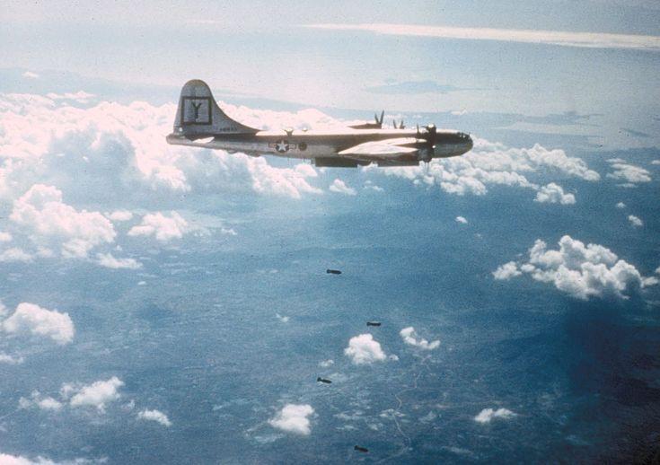 B-29 307th BG bombing target in Korea c1951 - Boeing B-29 Superfortress - Wikipedia, the free encyclopedia