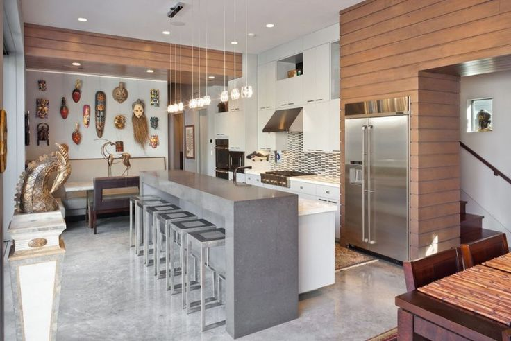 100 лучших идей: барные стулья для кухни на фото
