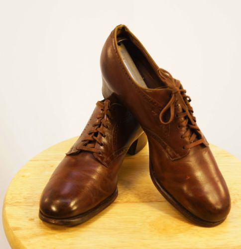 Wwii Army Dress Shoes With Buckle