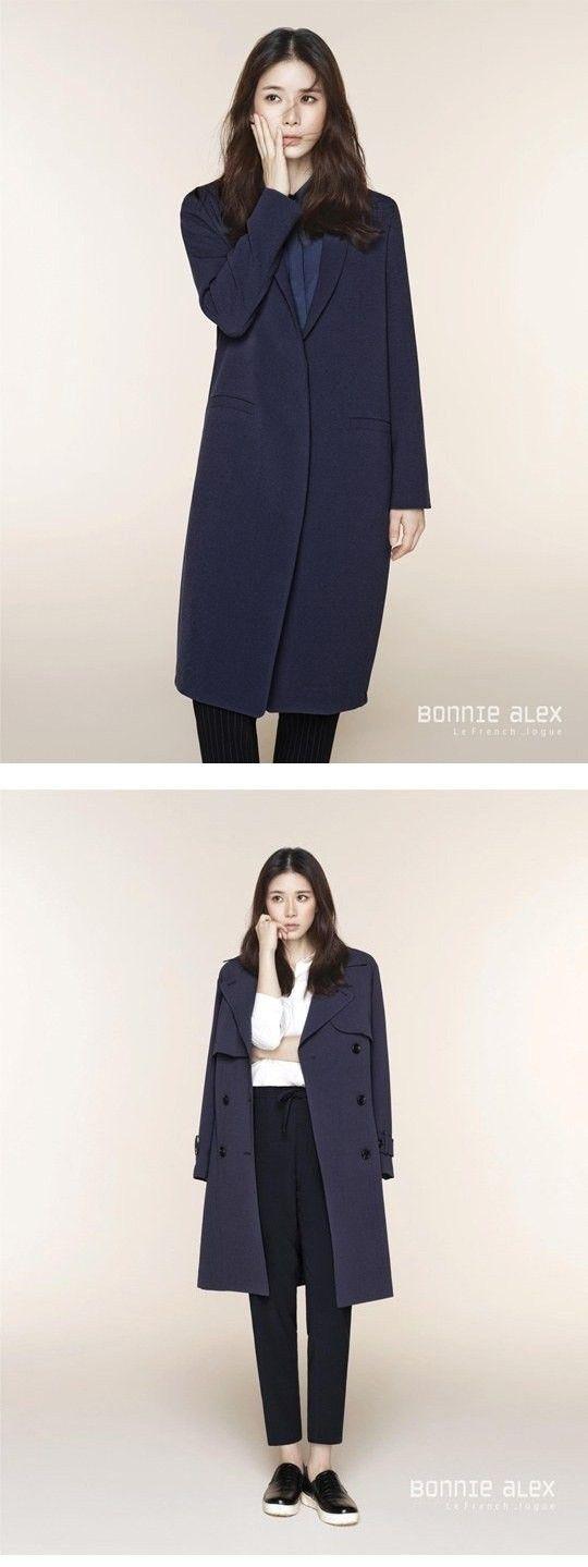 "Lee Bo Young Models ""Bonnie alex"" Clothing Brand 2014 F/W Line | Koogle TV"