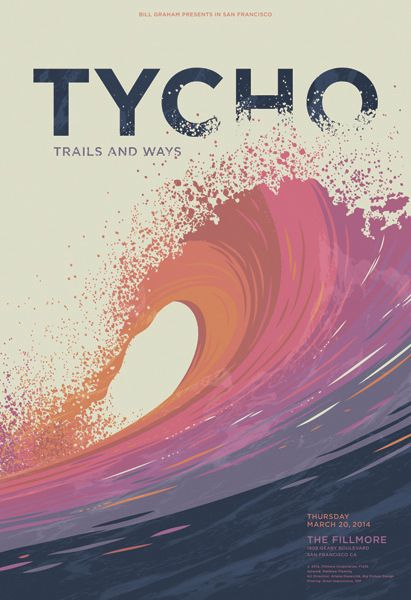 GigPosters.com - Tycho - Trails And Ways