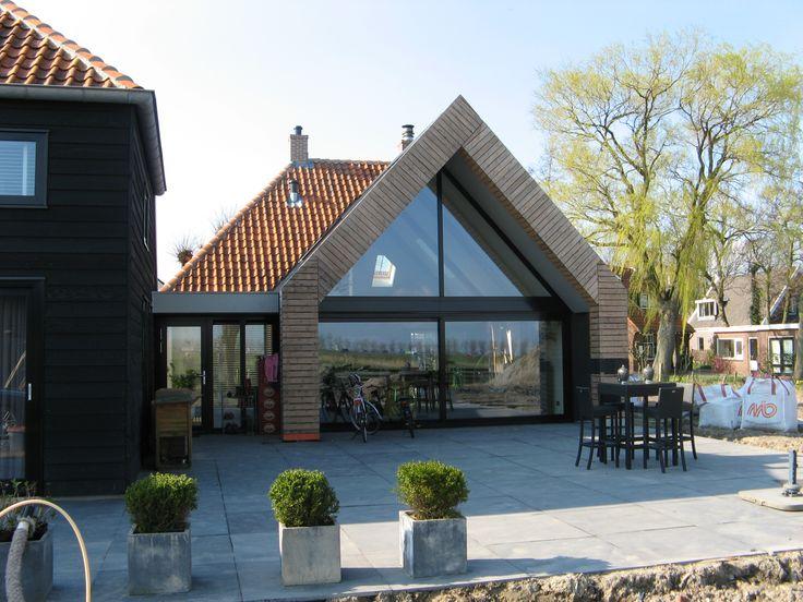 46 best images about ideas for de dijkhoff on pinterest modern farmhouse scandinavian house - Uitbreiding huis glas ...