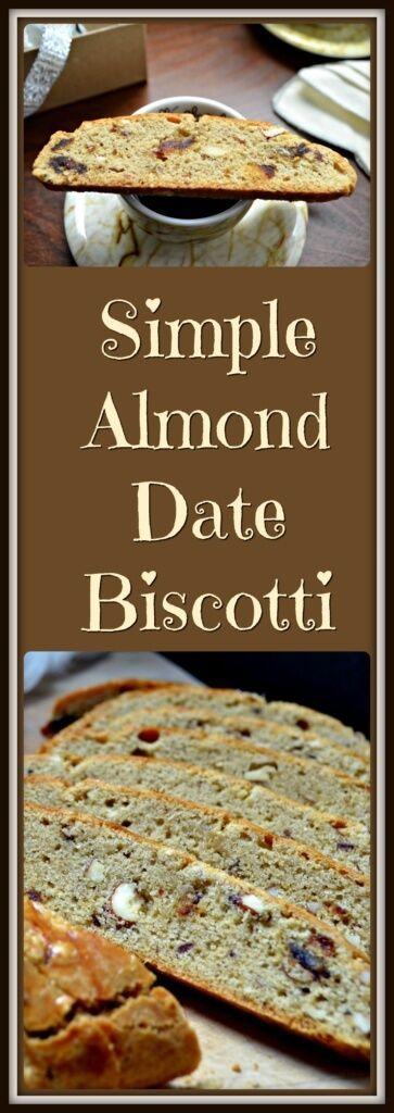 simple almond date biscotti biscotti rusks biscotti bread biscotti ...