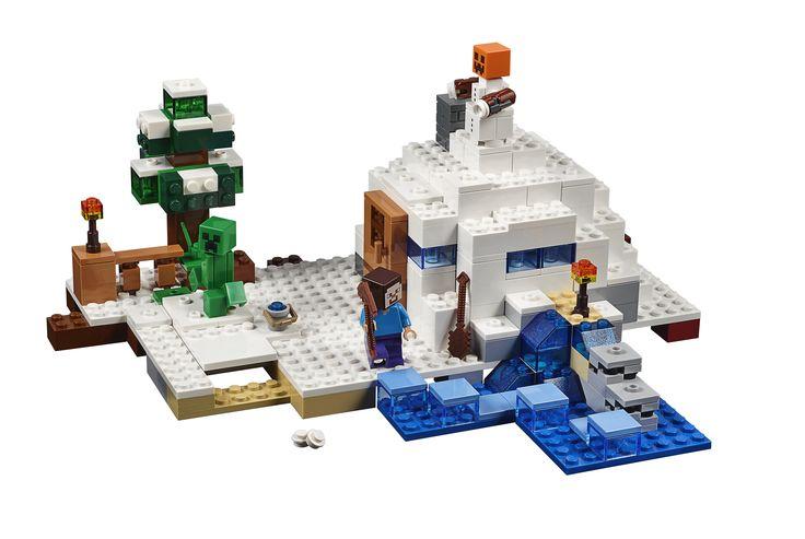 LEGO Minecraft 21120 Das Versteck im Schnee