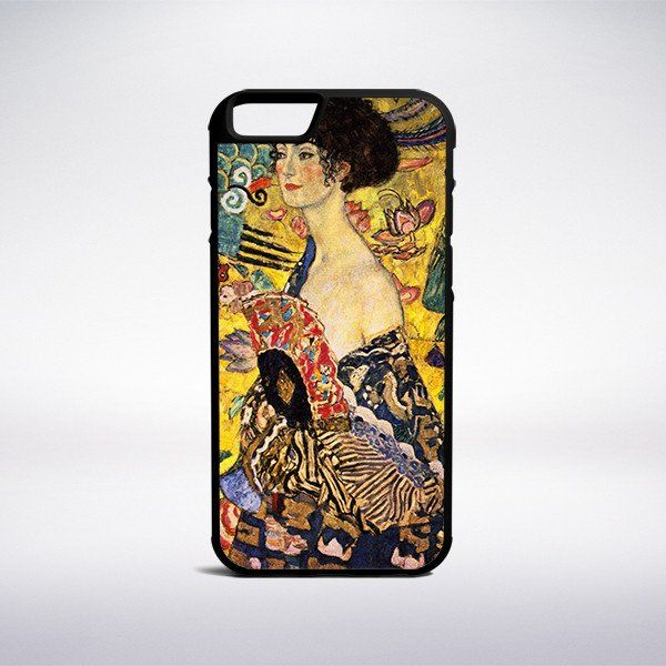 Gustav Klimt - Lady With Fan Phone Case – Muse Phone Cases