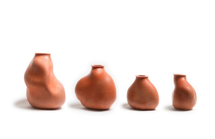 Sculpt vessels | Red Ocre