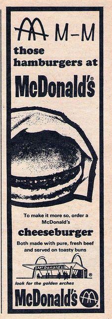 McDonald's ad, 1964