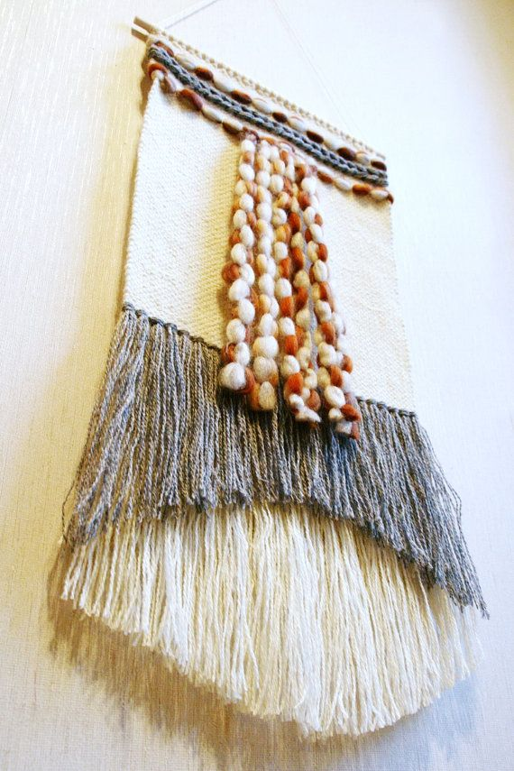 Handwoven wall hanging handwoven tapestry wall decor by Delekselja