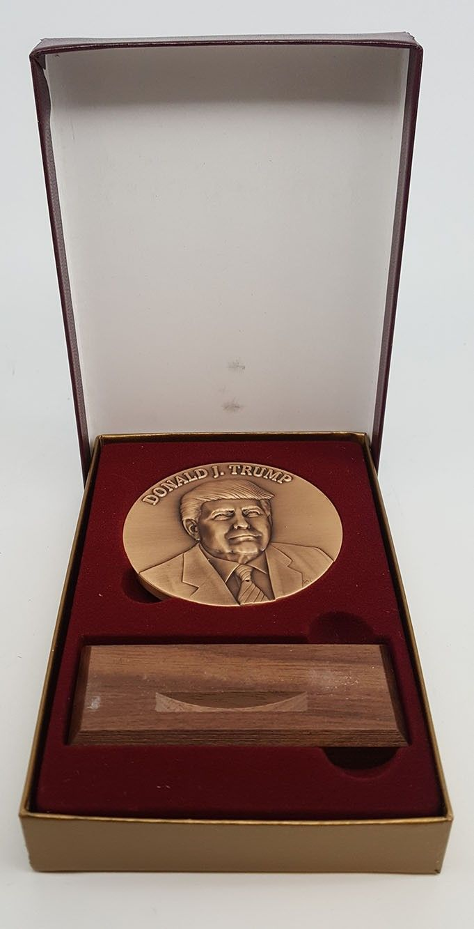 Donald Trump Inaugural Medals Offical
