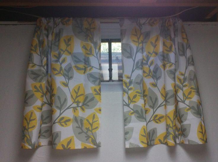 Short Basement Window Curtains