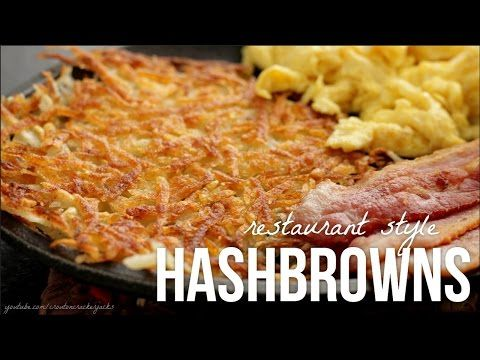 Air Fried Hash Browns - air fryer - oil less fryer - easy recipe - airfryer recipes - easy meal - YouTube