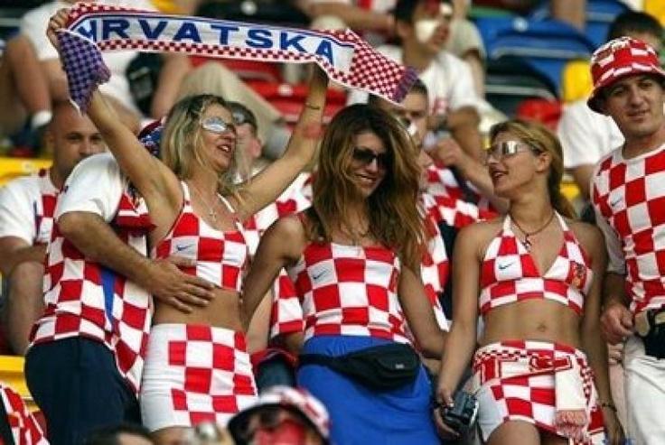 Loyal Croatian fans.