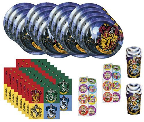 Harry Potter Gryffindor Birthday Party Supplies Bundle Pack Serves 16 - http://www.partysuppliesanddecorations.com/harry-potter-gryffindor-birthday-party-supplies-bundle-pack-serves-16.html