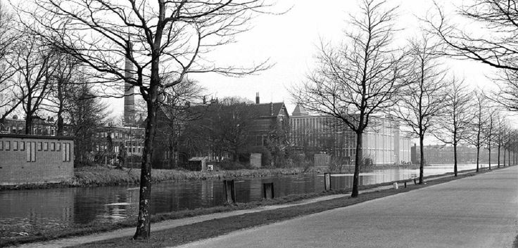 Delft, Kanaalweg 1957.