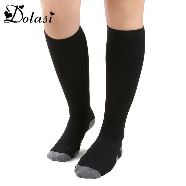 Compression Socks Knee High Orthopedic Socks Firm Pressure Circulation Socks