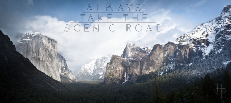 Always take the Scenic Road | Flickr - Photo Sharing!