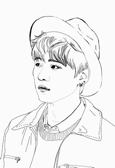 Pin By Beka Skidmore On Fotuxx Rocyjulia Bts Drawings Line Art Drawings Kpop Drawings