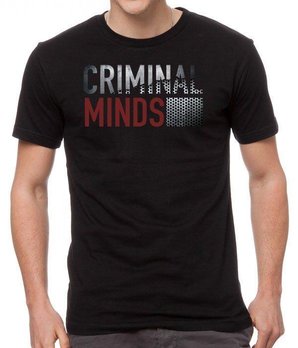 Criminal+Minds+New+Black+Men's+T-Shirt