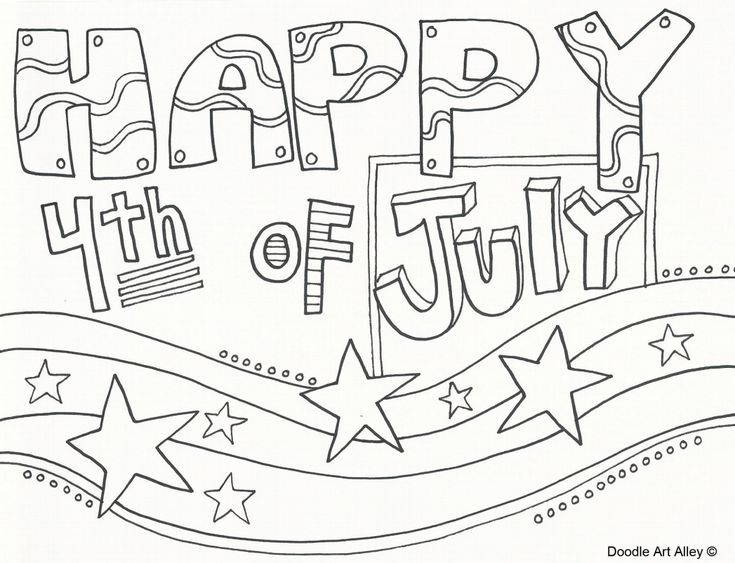 Free, Printable 4th of July Coloring Pages | Coloring ...