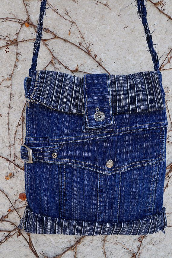 Beautiful Denim purse. by LeShorte on Etsy, $35.00