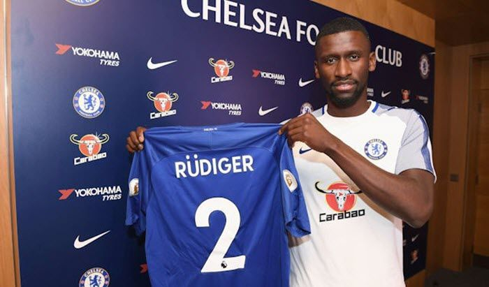 Chelsea Football Club has completed the signing of Antonio Rudiger from Roma.