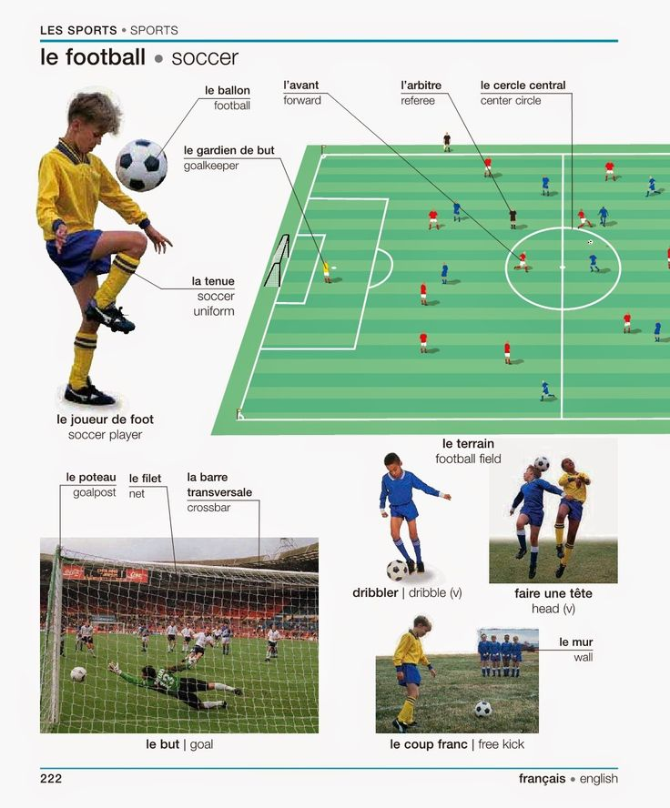 Chapter 10 -  In this chapter one of the sports we mainly focused on is soccer and this pin shows a lot of the terms along with pictures.