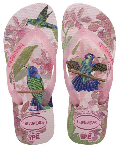 Havaianas Ipe Flip Flops-  Crystal Rose