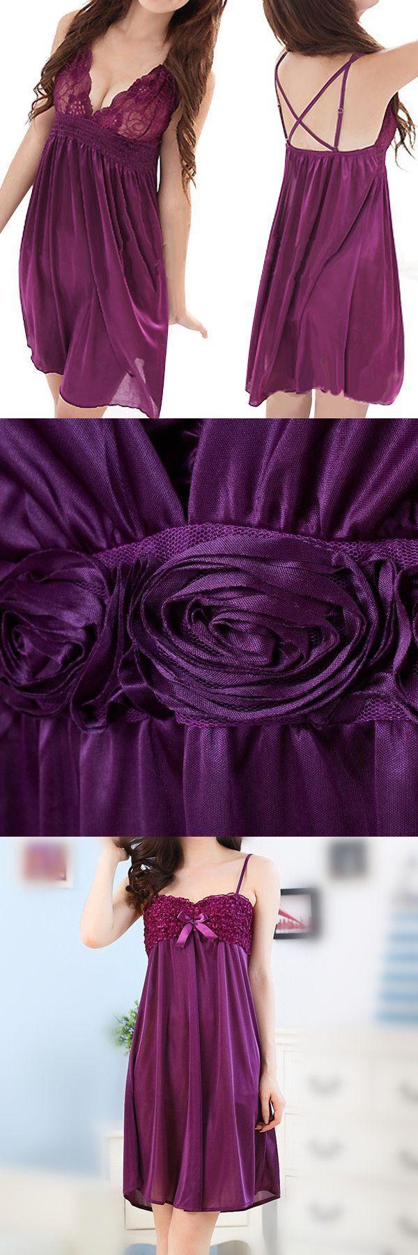 Plus size s-2xl sexy ice silk pajama sleeping dress lace temptation straps nightie cotton sleepwear robes #cheap #sleepwear #robes #mens #sleepwear #in #fashion #sleepwear #fashion #designers #sleepwear #in #fashion
