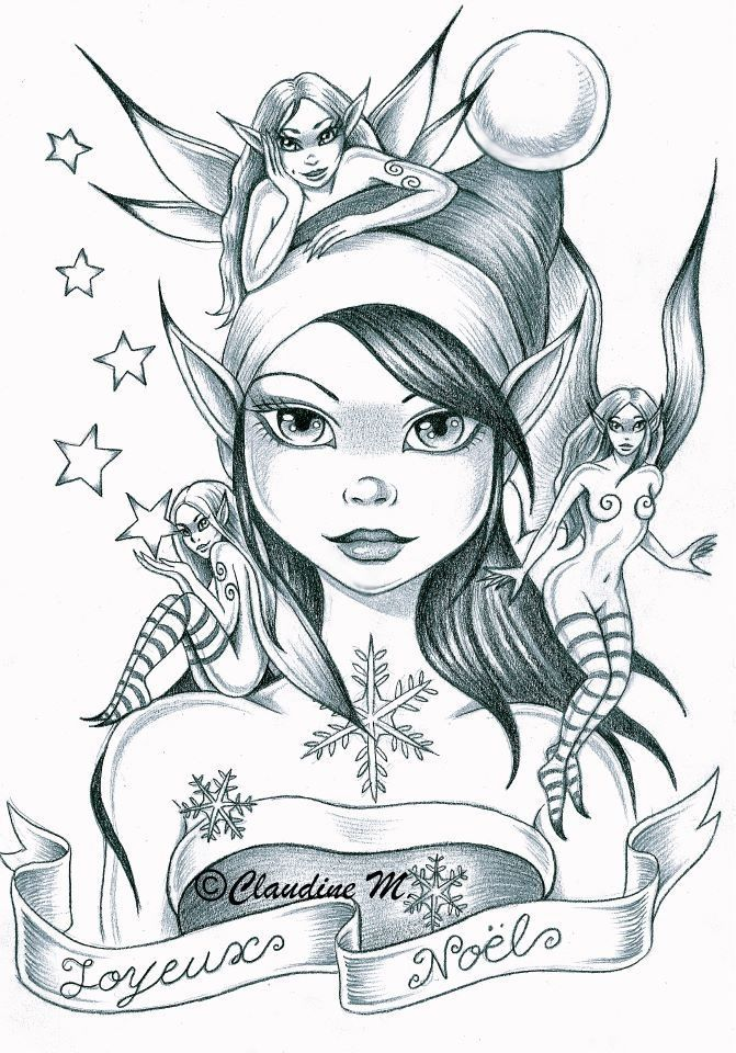 1000 Images About Coloring Fairy 2 On Pinterest Flower