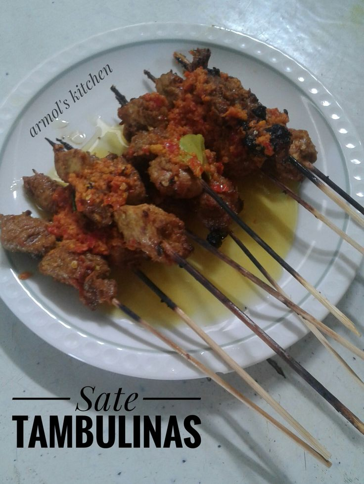 Sate Tambulinas - Masakan Manado.  Yuk simak resepnya https://aneka-resep-masakan-online.blogspot.co.id/2016/11/resep-sate-tambulinas.html