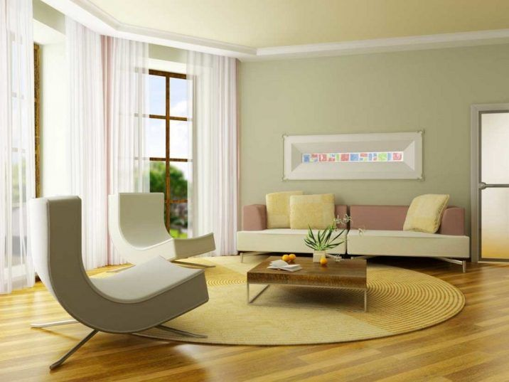 living room two tone wall colors white drop ceiling paneling neutral paint idea showing green