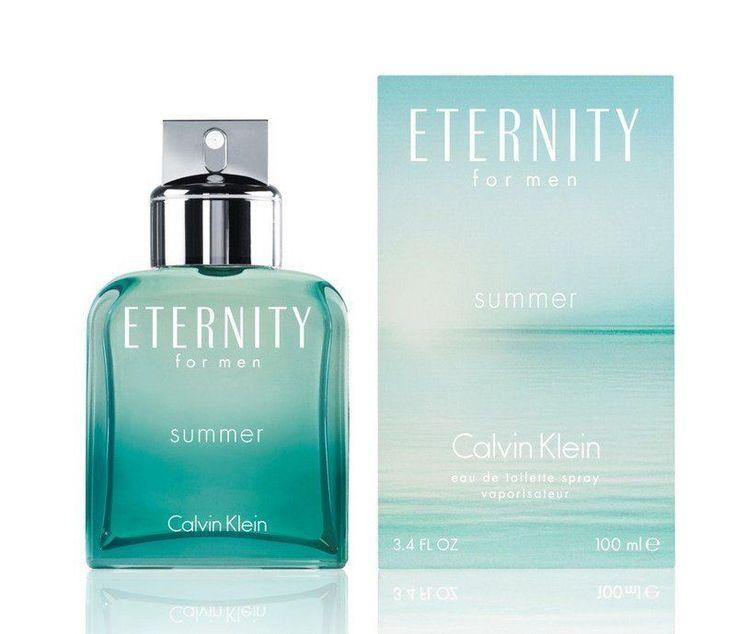 CALVIN KLEIN ETERNITY SUMMER 2012 MEN`S EAU DE TOILETTE SPRAY 3.4 OZ