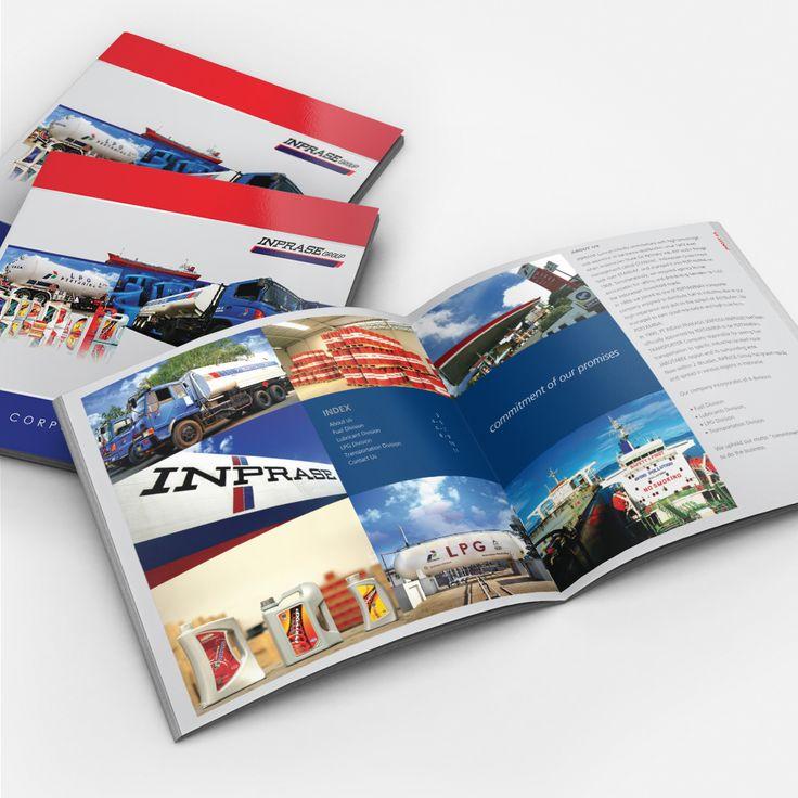 INPRASE Company Profile design by significan-design.com