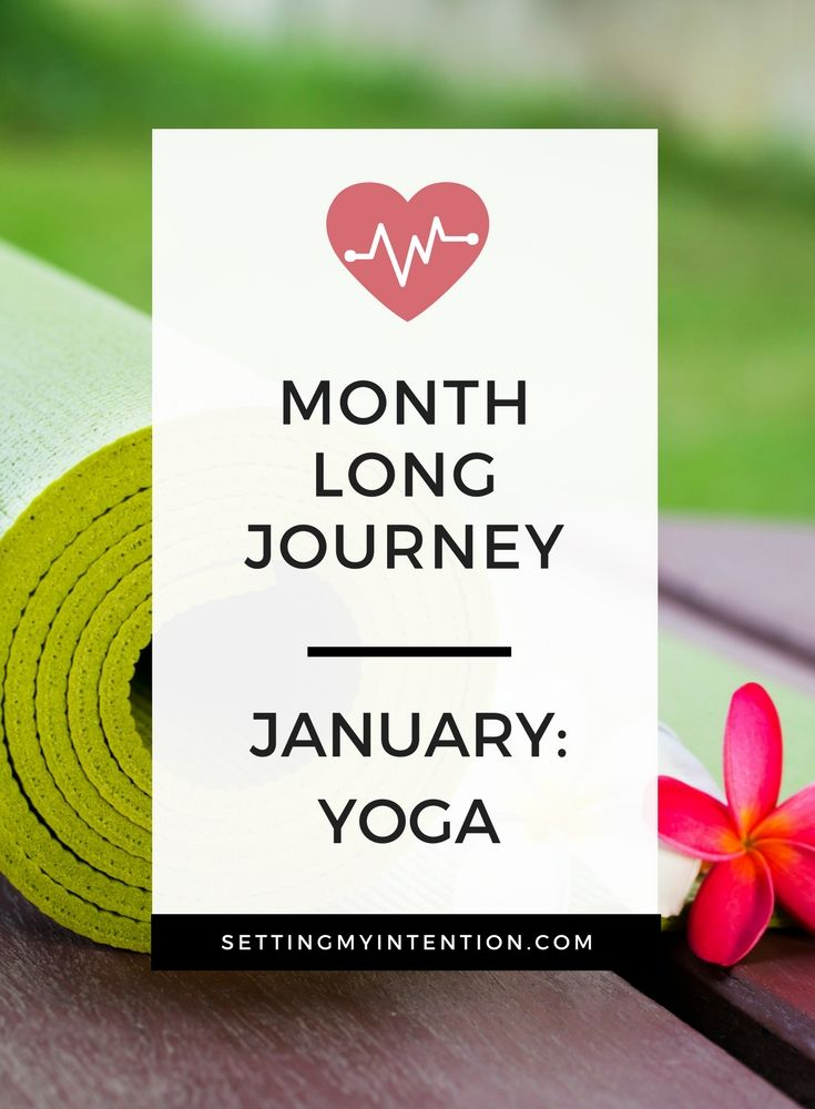 Have you ditched your new years resolution? Try this instead - plan one and only one focus for 30 days and really establish it as a habit. My January 30 day journey was getting on my yoga daily. Here are my reflections and 4 tips on how to get started setting your own focus for the month. #yoga #30daychallenge #wellness