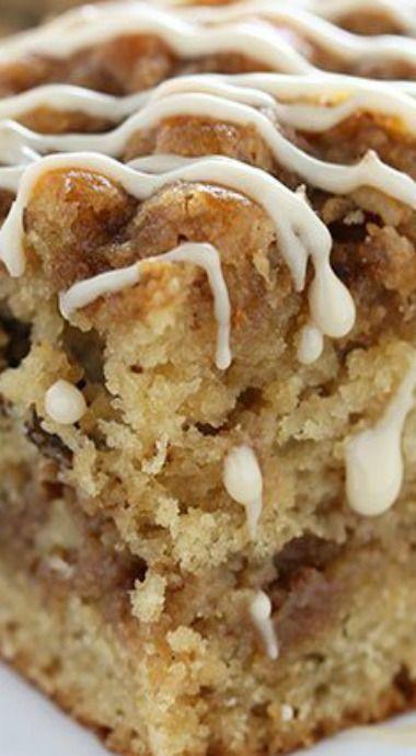 Maple Walnut Coffee Cake