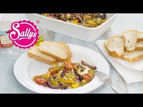 Sallys Blog - Gebackener Schafskäse mit Gemüse aus dem Ofen