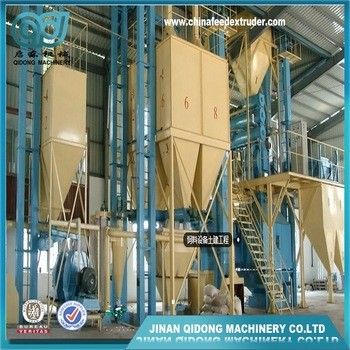 2TPH Floating and Sinking Fish feed making machine