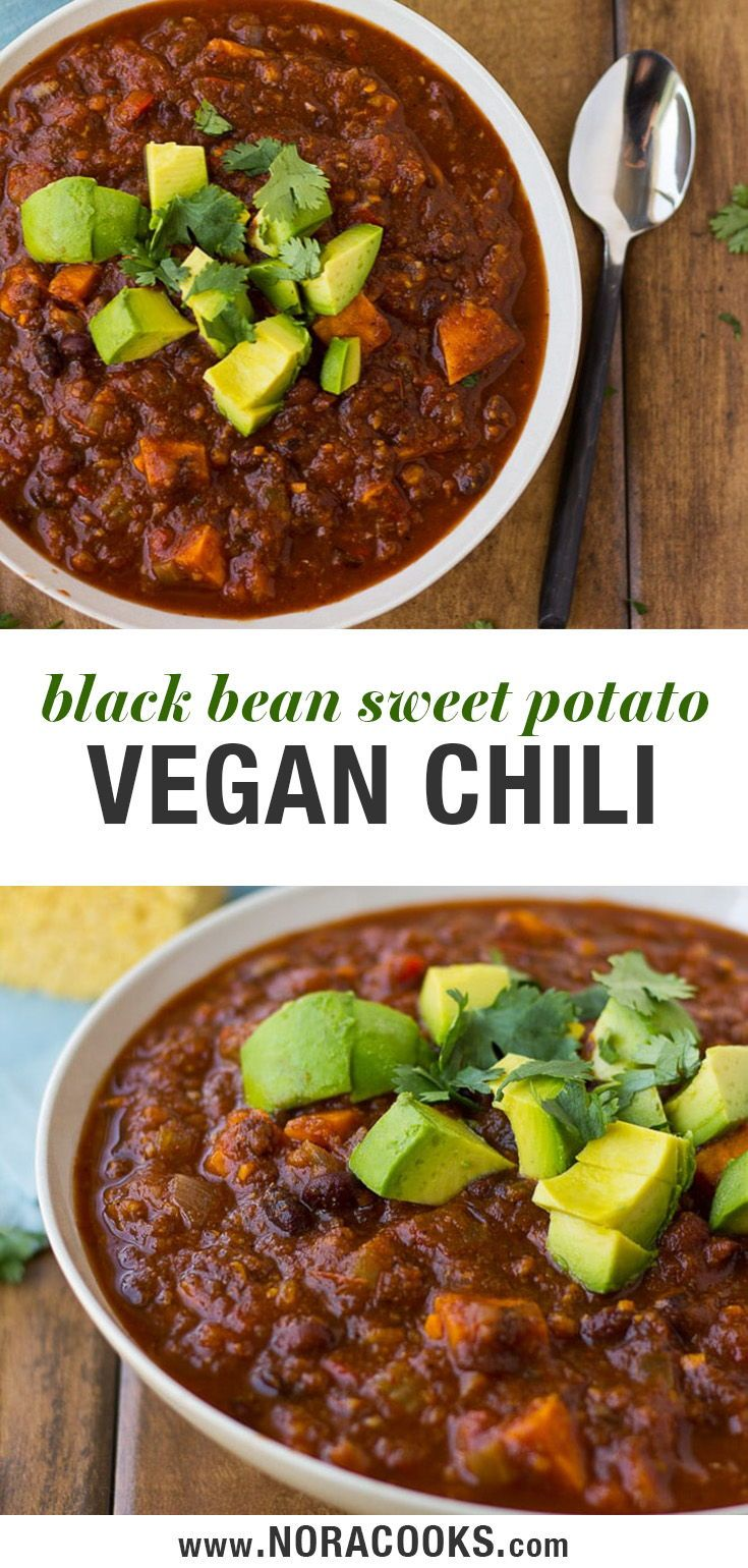 Sweet Potato Black Bean Chili A Delicious And Easy Vegan