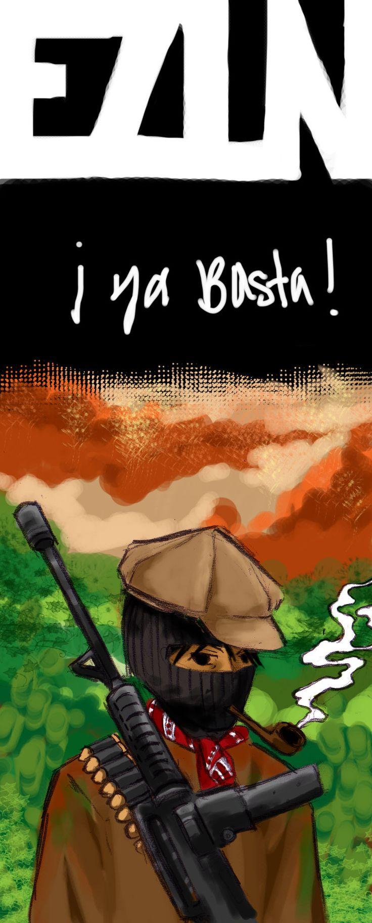 zapatista by minjiminji.deviantart.com on @deviantART