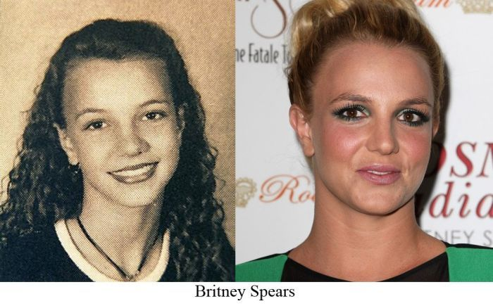 high school then and now | Britney Spears in High School ...