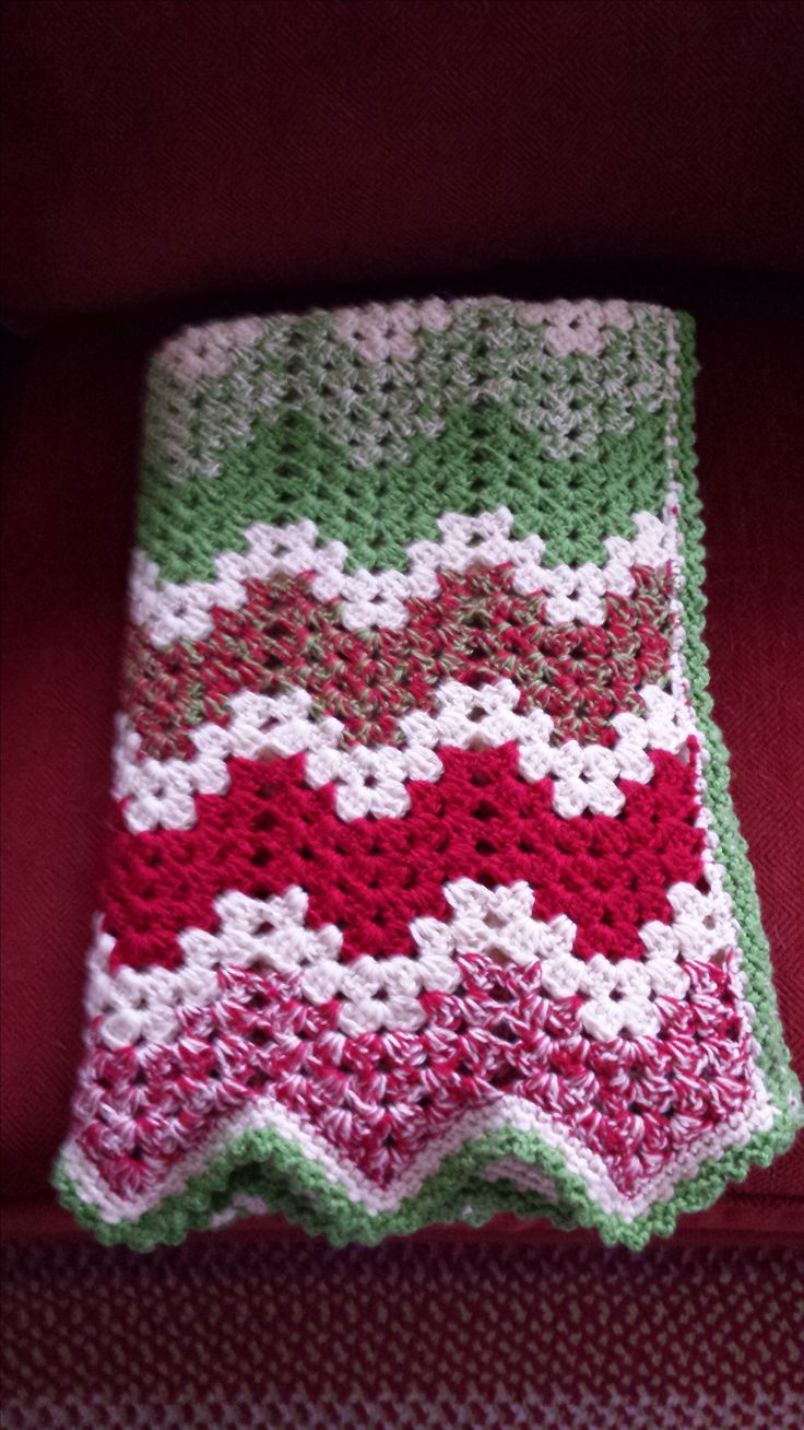 Christmas Blanket I made for a friend.